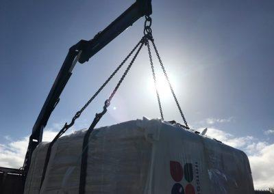 hot tub crane sun