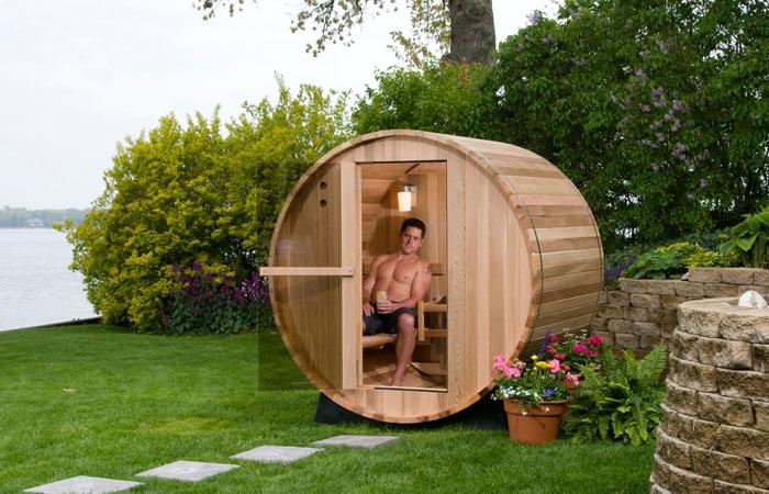2 persons rustic barrel sauna 4ft hot tub warehouse. Black Bedroom Furniture Sets. Home Design Ideas